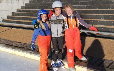 Nachmittag auf der Eisbahn